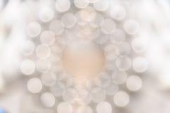 Lumière circulaire de bokeh Photographie stock libre de droits