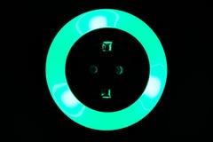 Lumière colorée de nuit Images libres de droits