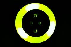 Lumière colorée de nuit Photo stock