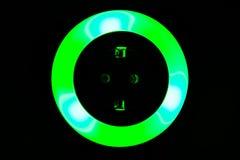 Lumière colorée de nuit Image libre de droits
