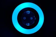 Lumière colorée de nuit Photos libres de droits
