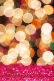 Lumière colorée de scintillement photo libre de droits