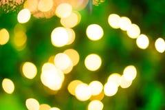 Lumière colorée de scintillement d'abstra de fond d'éclairage de Noël Photos stock