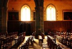Lumière d'église Image libre de droits