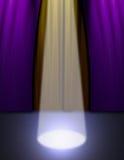 Lumière d'étape Image stock