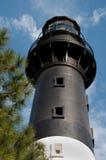 Lumière d'île de chasse en Beaufort, la Caroline du Sud Photos stock