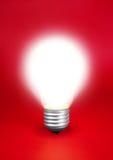 lumière d'ampoule Images stock