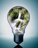 lumière d'ampoule Photo libre de droits