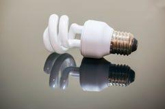 Lumière d'ampoule d'Eco Images libres de droits