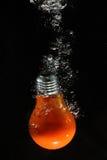 lumière d'ampoule sous-marine Images stock