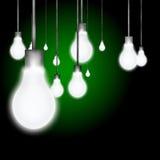 lumière d'ampoules Image stock