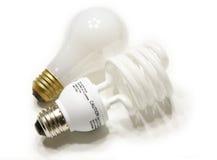 lumière d'ampoules Images libres de droits