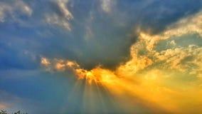 Lumière d'ange Image libre de droits