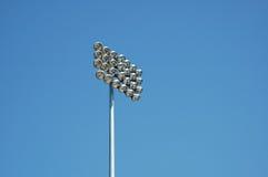 Lumière d'arène sportive Images libres de droits