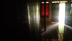 Lumière d'arc-en-ciel dans la Chambre image libre de droits