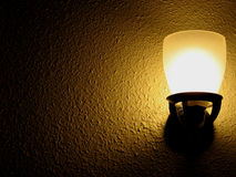 Lumière d'or d'espoir Image libre de droits