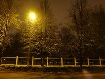 Lumière d'une lanterne Photos libres de droits