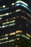 Lumière dans l'immeuble de bureaux Photo stock