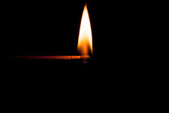 Lumière dans l'obscurité Images stock