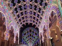 Lumière dans la rue Photo libre de droits