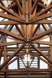 Lumière dans le toit Photographie stock libre de droits
