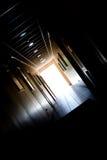 Lumière dans le tunnel photo libre de droits