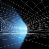 Lumière dans tunnel2 Photos stock