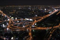 Lumière de Bangkok Photo stock
