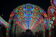 Lumière de Bangkok de bonheur Photo stock