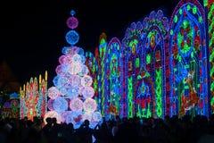 Lumière de Bangkok de bonheur Photographie stock libre de droits