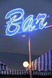 Lumière de bar Photographie stock libre de droits