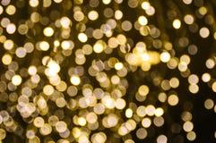 Lumière de Bokeh Photographie stock