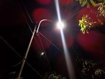 Lumière de bord de la route Image libre de droits