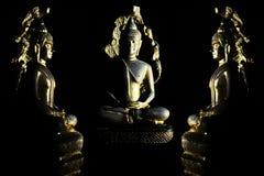 Lumière de Bouddha Photographie stock