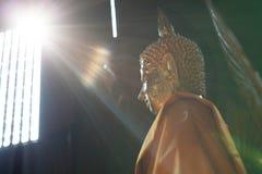Lumière de Bouddha Photos libres de droits