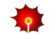 Lumière de bougie Illustration Libre de Droits