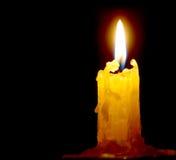 Lumière de bougie Photo libre de droits