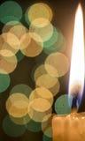 Lumière de bougie image stock