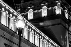 Lumière de cathédrale de Vilnius Photographie stock libre de droits