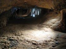 Lumière de caverne Photos stock
