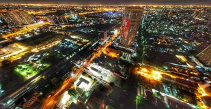 Lumière de centre de la ville Photo libre de droits