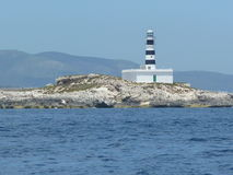 Lumière de Chambre sur la mer Photo libre de droits