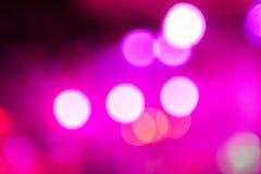 Lumière de club de Defocus Lumières troubles Image libre de droits