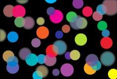 Lumière de couleur Photo libre de droits