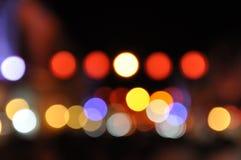 Lumière de couleur Photos stock