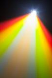 Lumière de couleur de projecteur Photos libres de droits