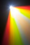Lumière de couleur de projecteur Photo libre de droits