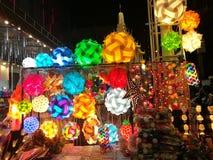 Lumière de couleur de rue Photographie stock libre de droits