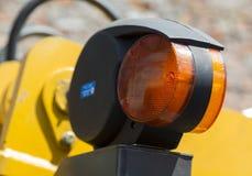 Lumière de dégagement des machines de route images stock