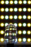 Lumière de DEL et de tungstène Images libres de droits